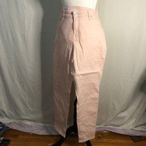 Style & Co curvy skinny leg Mid-rise Tummy Control